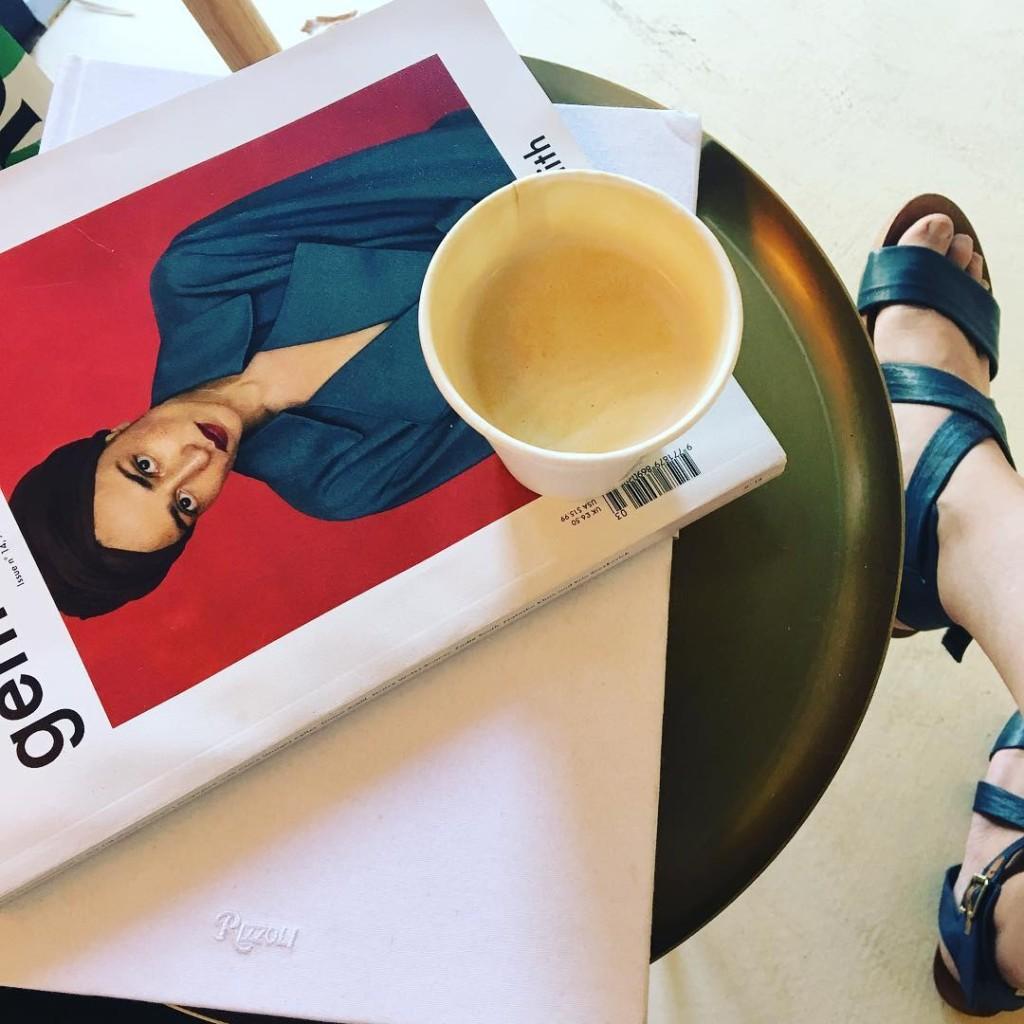 Friday mornings coffee