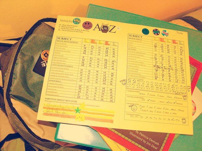 school marks