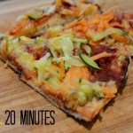 easy and quick pizza