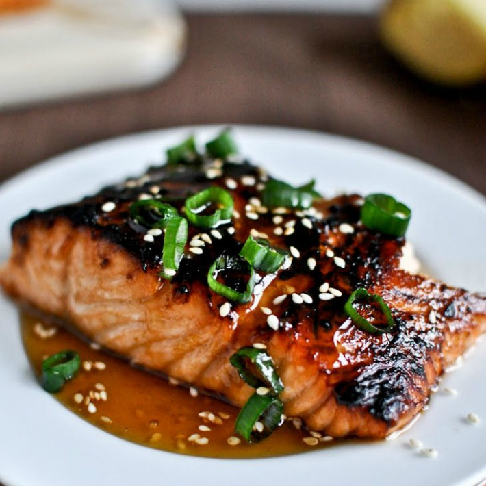 toasted salmon