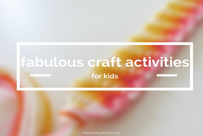 fabulous craft activities