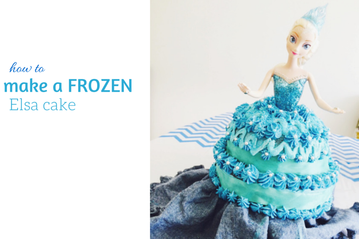 how to make a frozen cake